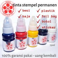 Tinta Stempel Permanen Tanggal Kadaluarsa - Plastik - Foil Aluminium