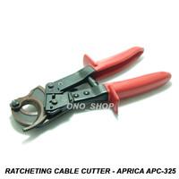 Ratcheting Cable Cutter - Tang Potong Kabel - Aprica APC-325