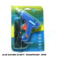 Glue Gun Mini 20 Watt - Woodpecker - WP88