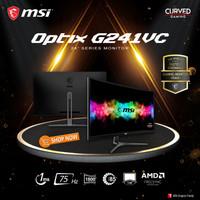 "MSI Optix G241VC 24"" Curved Gaming Monitor - 1080p FHD 75Hz 1ms"