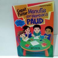 Buku Anak - Cepat Pintar Menulis dan Membaca PAUD
