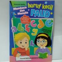 Buku Anak - Membaca Dan Menulis Huruf Kecil PAUD