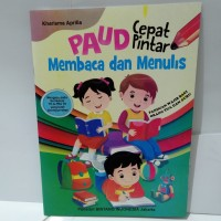 Buku Anak - PAUD Cepat Pintar Membaca dan Menulis