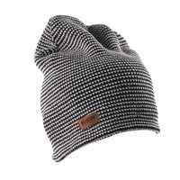 Men Beanie Kupluk Skullcap knitting Rajut HITAM Premium quailty MURAH