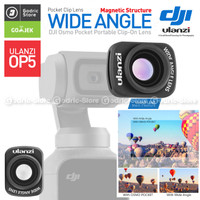 ULANZI OP-5 Premium Wide Angle Lens Vlog Converter for DJI OSMO POCKET