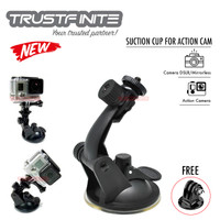 Car Suction Cup Mount Holder For GoPro Osmo Action Dash Cam Xiaomi Yi