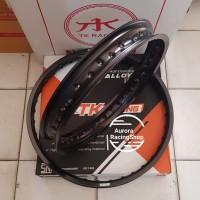 Velg TK KLX Set Ring 18 /21 Hole 36 warna Black