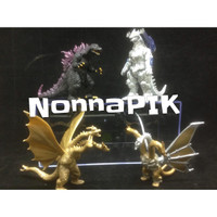 GODZILLA MONSTERS FIGURE SET OF 4