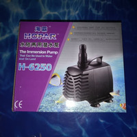 aquarium kolam ikan pompa celup water pump HOPAR H 6250