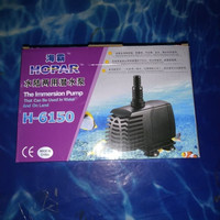 aquarium kolam ikan pompa celup water pump HOPAR H 6150