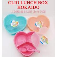 Kotak Makan + Sendok HOKKAIDO Clio / Lunch Box Catering Hokaido Love