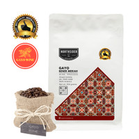 BIJI KOPI ARABIKA GAYO WINE NATURAL - 200GR NORTHSIDER COFFEE