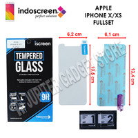 iPhone X - iPhone XS iScreen Tempered Glass I ORI