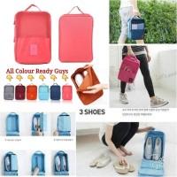 Korean Monopoly Travel Shoe pouch vers 3/ Tas Sepatu / Organizer Bag