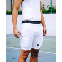 Padded compression short