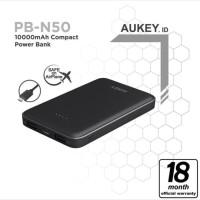 Powerbank AUKEY PB-N50 Original Resmi Aukey Fast Dual Port 10.000mAh