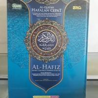 Alquran Hafalan Al-Hafiz uk A4 Tajwid Warna, Al-Quran Alhafidz Alhafiz