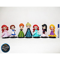 Action Figure Disney Princess Frozen isi 7 Terbaru