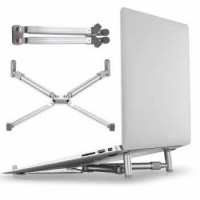 X Stand Universal Folding Holder Cooling Pad Laptop 17 Inch - F2056