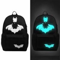 Tas Ransel Oxford Glow in The Dark - Batman