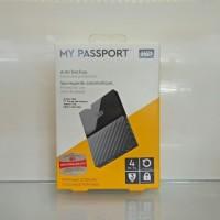 WD My Passport 4TB New Portable HDD External/Eksternal Harddisk USB3.0
