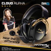 HyperX Cloud Alpha Gold Pro Gaming Headset