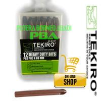 TEKIRO MATA OBENG KETOK PH-3 [+]. IMPACT DRIVER BITS SET 12 PCS.