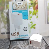 Adaptor Charger Jaspan J-03 Qualcomm 3.0 Quick Charge Fast Charging