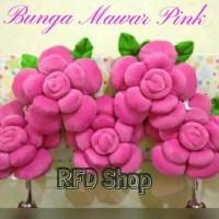 Bantal Bunga MAWAR PINK