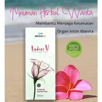 Ladies V INFINESSE 250gr Woman Secret Obat Tradisional Kewanitaan