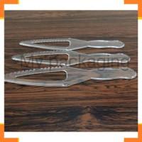 Sendok, Garpu & Sumpit 5120 Pisau Kue Plastik Besar - Pisau cake