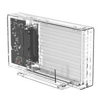 ORICO Dual-Bay 2.5in Hard Drive Enclosure Transparent Series - 2259U3