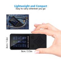 ZYZY T1 MP4 Player Mini Mp3 Portable Music Player TF Card Slot - Black
