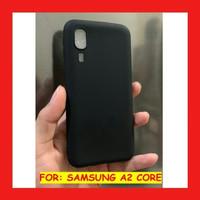 Case Samsung A2 CORE Ultraslim Matte softcase Dove Black slim