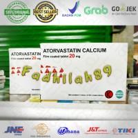 Obat Kolesterol - Atorvastatin. 20 Mg Dexa. OGB Per Box ORIGINAL