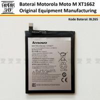 Baterai Motorola Moto M XT1662 BL265 Original OEM Batre Batrai Ori HP