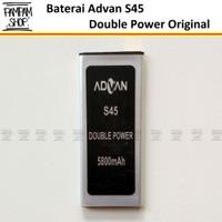 Baterai Handphone Advan S45 Original Double Power   Batre HP Advance