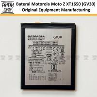 Baterai Motorola Moto Z XT1650 GV30 Original OEM Batre Batrai Ori HP