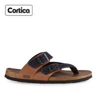 Sandal Kulit Cortica Kasual 07 Leather Original