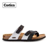 Sandal Kulit Cortica Kasual 12 Leather Original