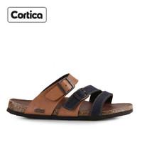Sandal Kulit Cortica Kasual 06 Leather Original