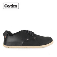 Sepatu Cortica Formal 05 Leather Black Original