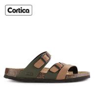 Sandal Kulit Cortica Kasual 09 Leather Original