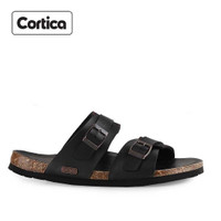 Sandal Kulit Cortica Kasual 08 Leather Original