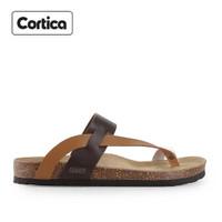 Sandal Kulit Cortica Kasual 01 Leather Original