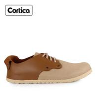 Sepatu Cortica Formal 03 Leather Brown Original