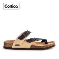 Sandal Kulit Cortica Kasual 11 Leather Original
