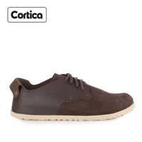 Sepatu Cortica Formal 04 Leather Coffe Original