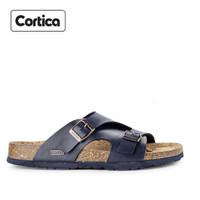 Sandal Kulit Cortica Kasual 13 Leather Original