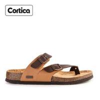 Sandal Kulit Cortica Kasual 10 Leather Original